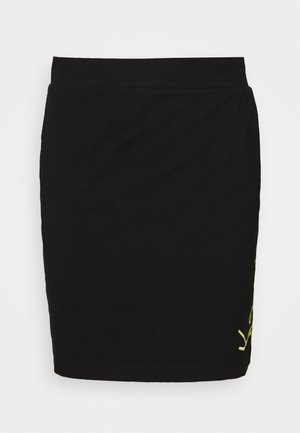 SIGNATURE SKIRT - Pencil skirt - black