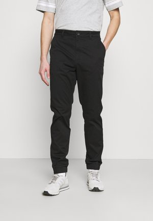 ONSCAM AGED CUFF - Trousers - black