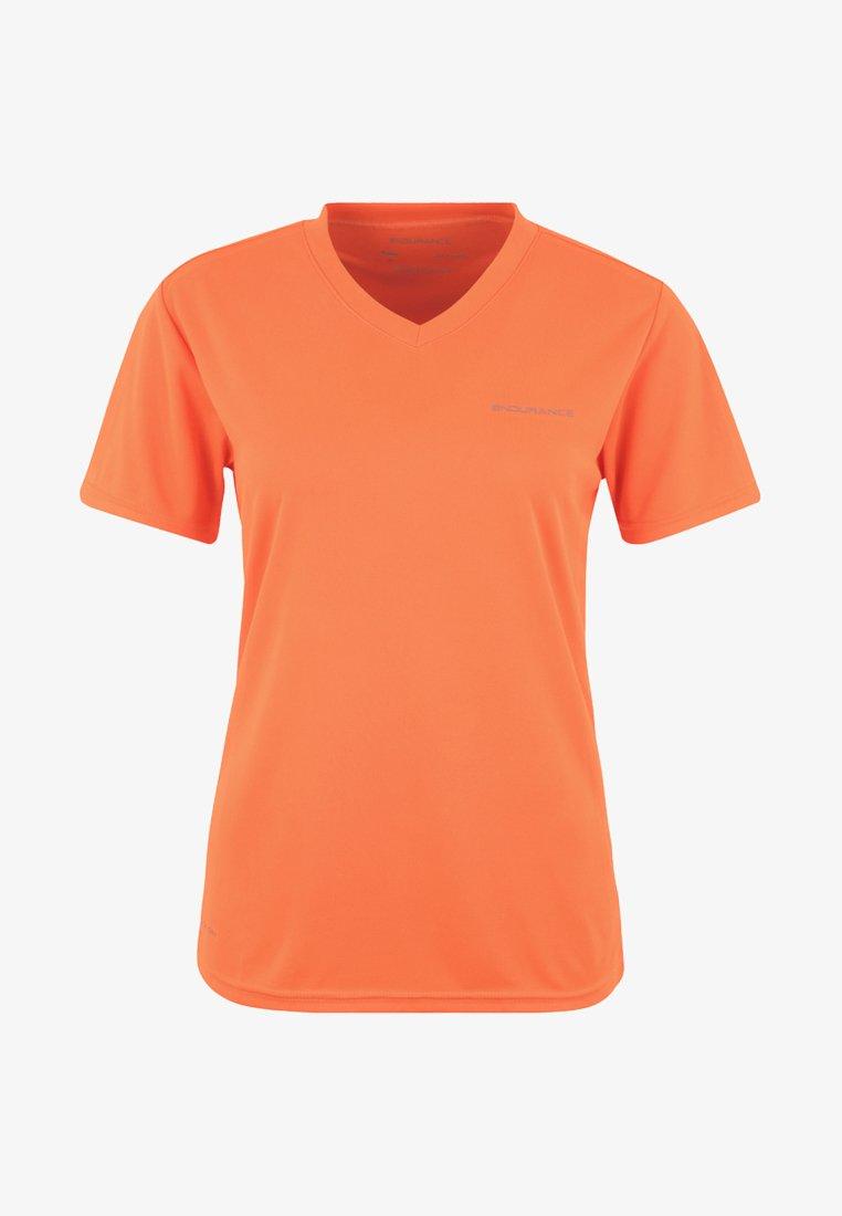 Endurance - VISTA - Basic T-shirt - neon-orange