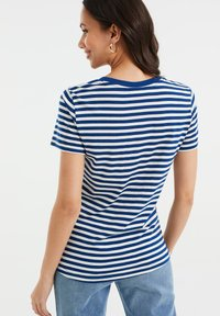 WE Fashion - Print T-shirt - cobalt blue - 2