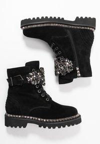 Alma en Pena - Lace-up ankle boots - black - 3