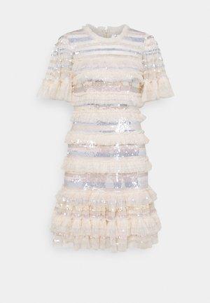 ARIANA MINI DRESS - Robe de soirée - champagne/wedgewood