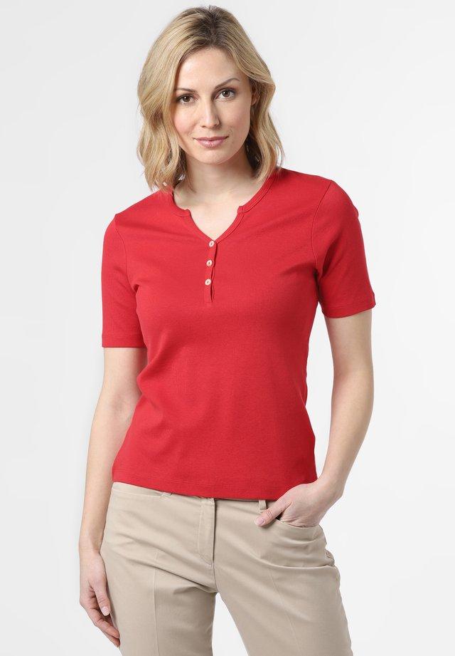 Basic T-shirt - himbeer