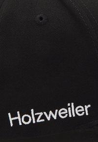 Holzweiler - SIRUS CAP UNISEX - Kšiltovka - black - 4