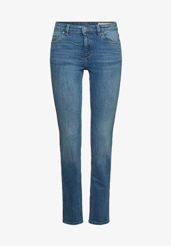 Straight leg jeans - blue medium washed