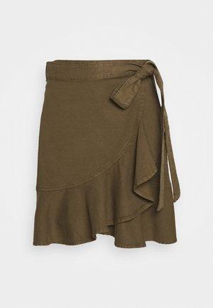 TAMOKO - Wrap skirt - beech