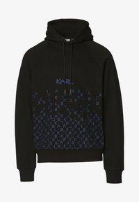 KARL LAGERFELD - Hoodie - tetris blac - 5