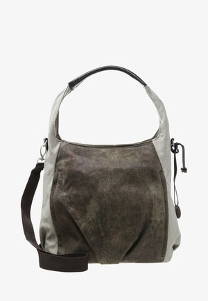 HOBO BAG - Vaippalaukku - olive/beige