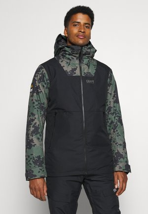 BLOCK JACKET - Snowboard jacket - black