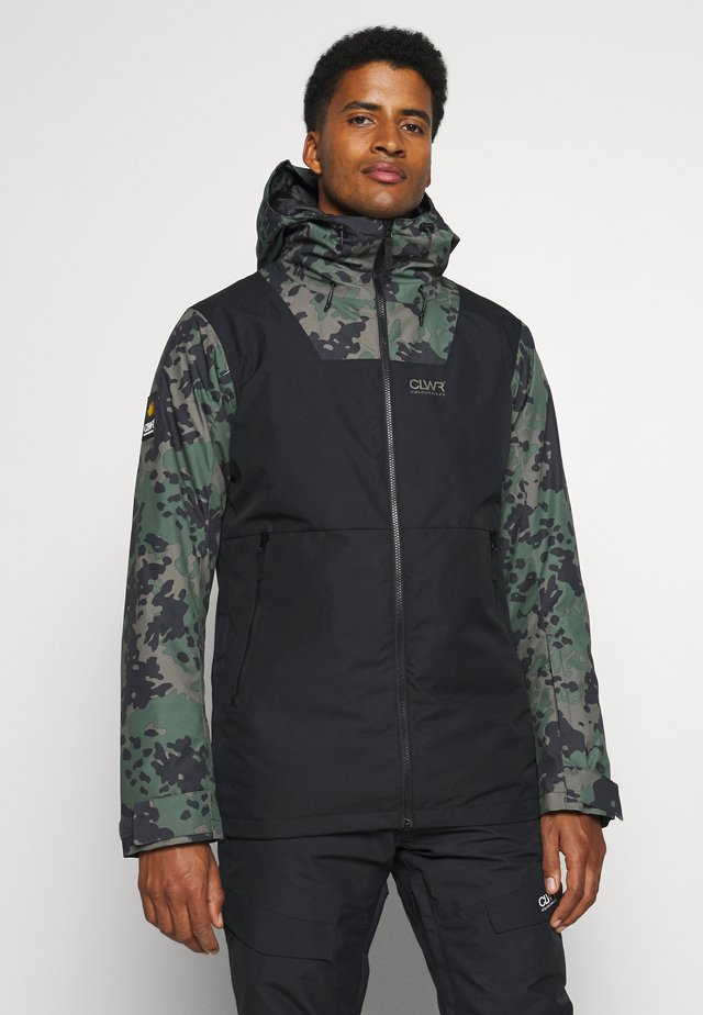 BLOCK JACKET - Snowboardjas - black