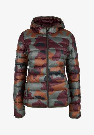 MIT ALLOVER-PRINT - Winter jacket - olive
