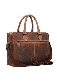 Jack Kinsky - BALTIMORE - Briefcase - cognac - 2