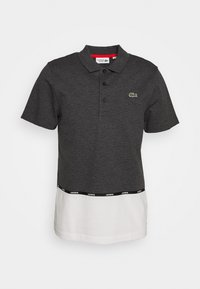 Lacoste Sport - TAPING - Polo shirt - pitch chine/flour/gladiolus - 4