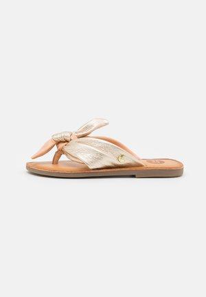 BLOIS - T-bar sandals - nude