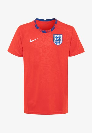 ENGLAND DRY - Club wear - challenge red/white