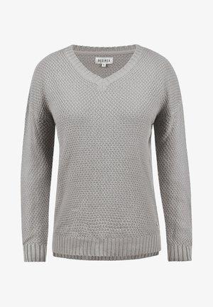 INA - Trui - light grey