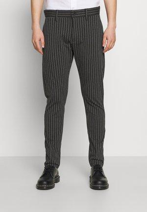 PONTE ROMA PLAIN - Pantaloni - dark grey melange