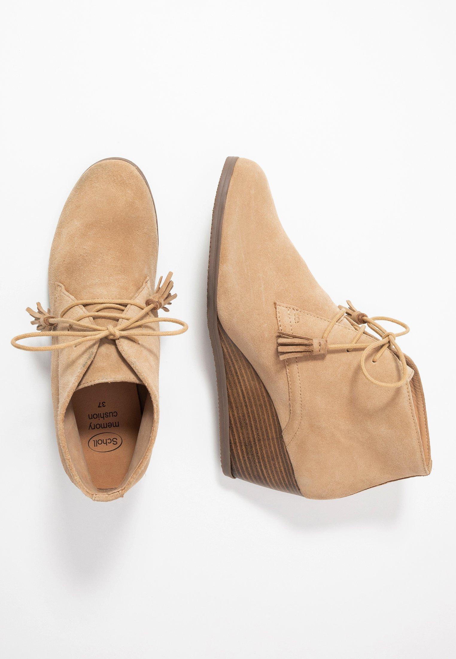 GRIEL Korte laarzen beige