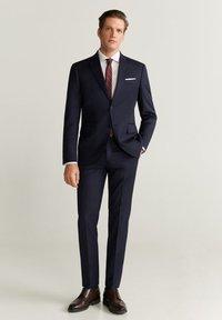Mango - MILANO - Suit trousers - dunkles marineblau - 1