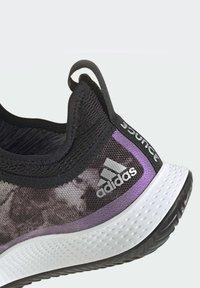 adidas Performance - DEFIANT GENERATION MULTICOURT - Clay court tennis shoes - black - 5