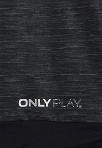 ONLY Play - ONPASIME CURVY - Training jacket - dark grey melange - 2