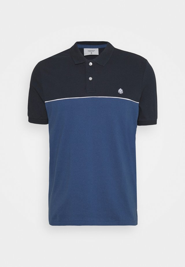 PIPPING - Polo - dark blue