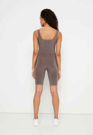 SLINKY SCOOP NECK UNITARD - Tuta jumpsuit - nude brown