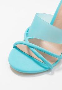 Call it Spring - HOANA - Pantolette hoch - bright blue - 6