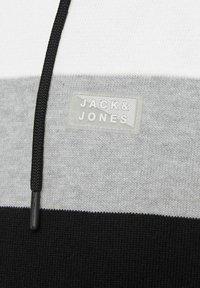 Jack & Jones - Huvtröja med dragkedja - black - 6