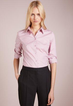 ETRIXE - Button-down blouse - dark pink