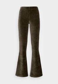 ONLY - ONLFENJA LIFE FLARED PANT - Broek - forest night - 3