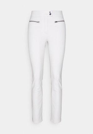 GABAR ZIP SLIM ANKLE  - Pantaloni - ivory