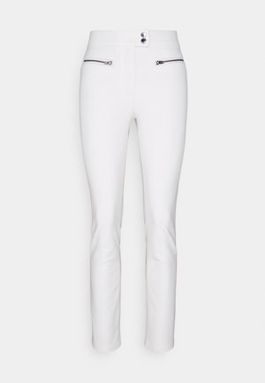 GABAR ZIP SLIM ANKLE  - Kalhoty - ivory