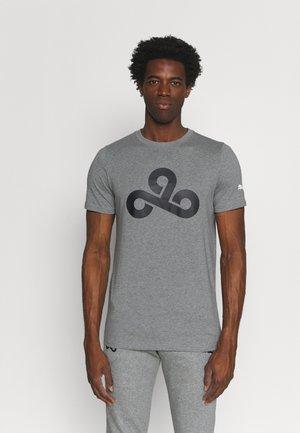 C9 LOGO TEE - Print T-shirt - medium gray heather