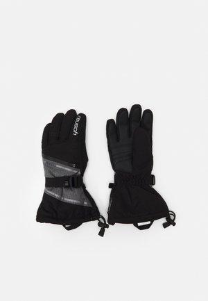 DEMI RTEX® XT - Gloves - black/grey melange/silver