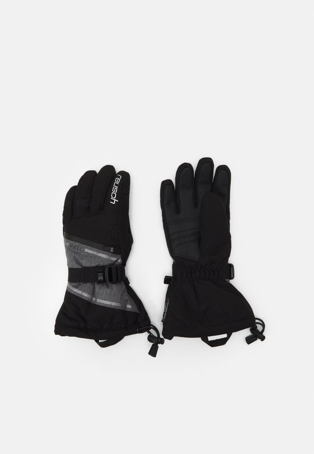 DEMI RTEX® XT - Rukavice - black/grey melange/silver