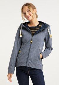 Schmuddelwedda - Zip-up hoodie - grau melange - 3