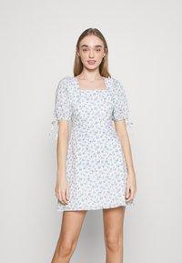 Fashion Union - POSITANO DRESS - Kjole - white - 0