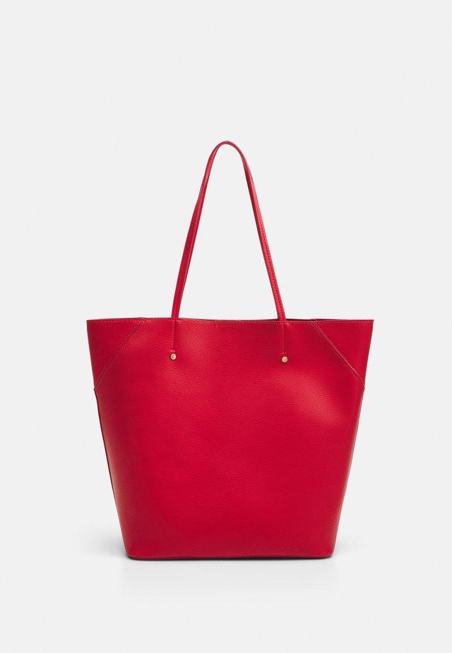 Bolso shopping - red