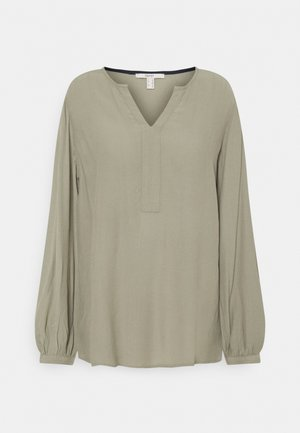 MAROCAIN - Blouse - light khaki