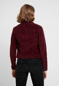 ONLY - ONLWESTA GLOBAL JACKET - Summer jacket - tawny port - 2