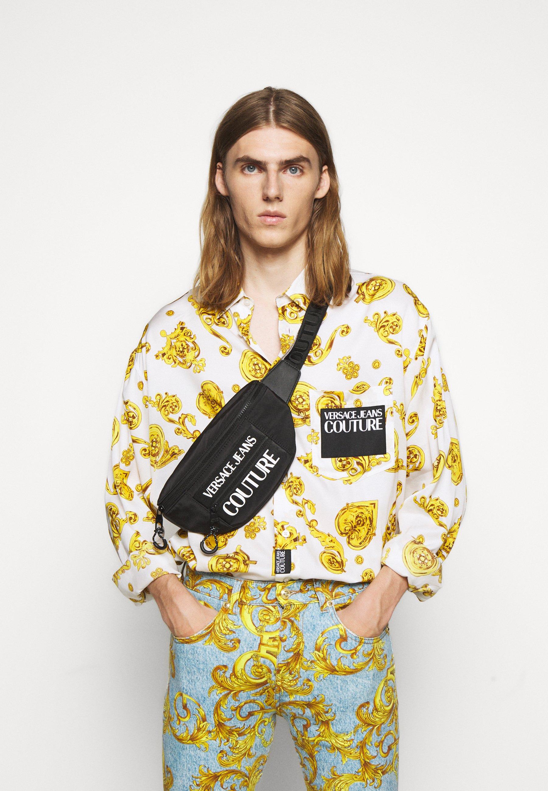 Nowy styl Gorąca wyprzedaż Versace Jeans Couture Saszetka nerka - nero | Akcesoria damskie 2020 sfLUB