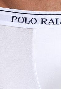 Polo Ralph Lauren - POUCH TRUNKS 3 PACK - Underkläder - white/heather/black - 5
