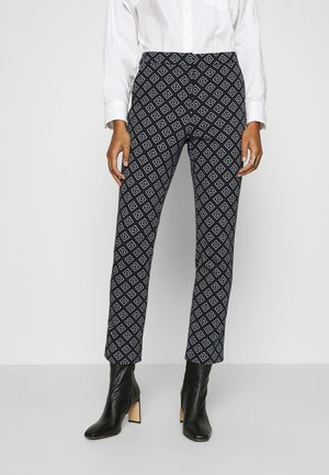 CIGARETTE PANT - Tygbyxor - evening blue