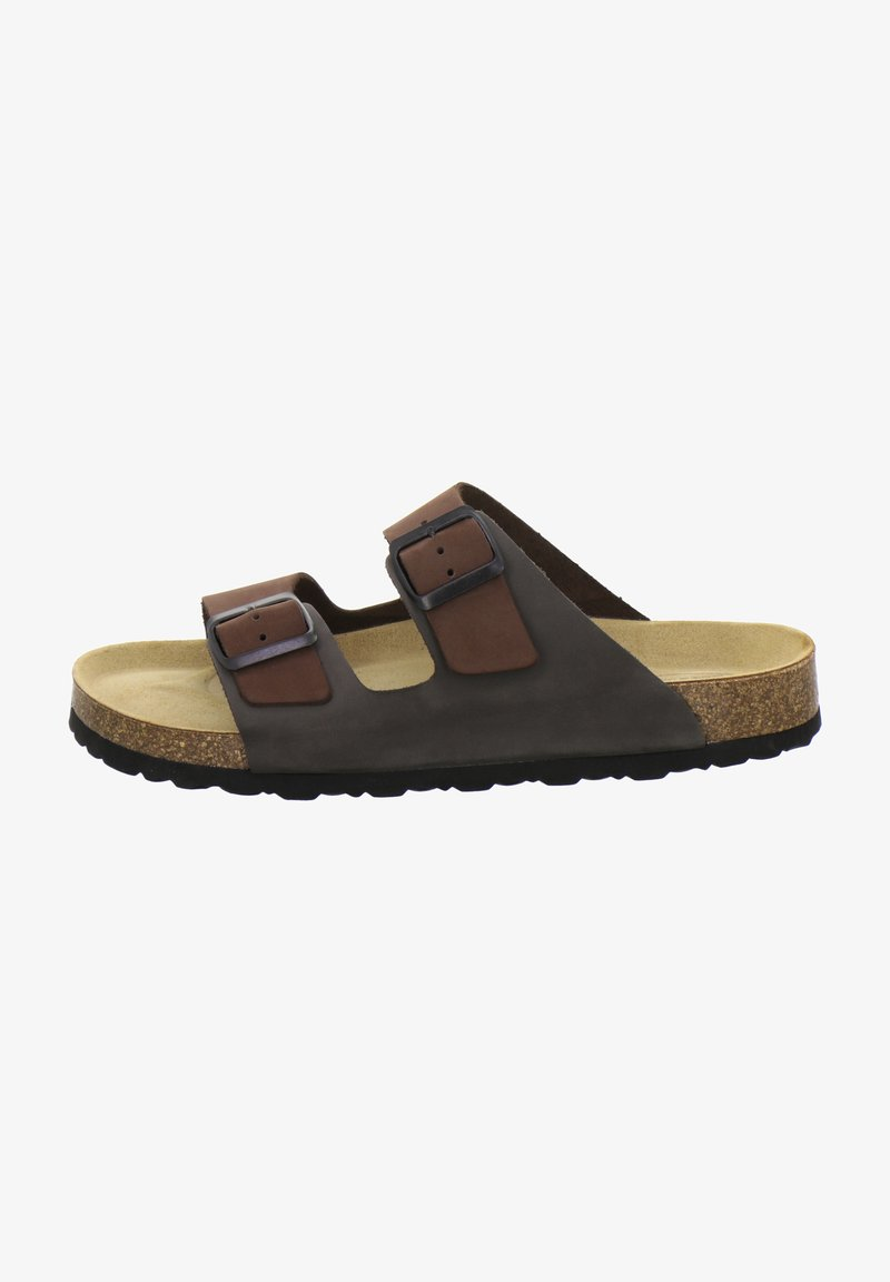AFS Schuhe - Mules - mocca/stone