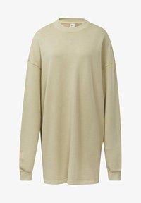 Reebok Classic - REEBOK CLASSICS NATURAL DYE OVERSIZE CREW DRESS - Jersey dress - beige - 5