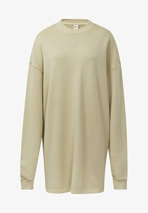 REEBOK CLASSICS NATURAL DYE OVERSIZE CREW DRESS - Robe en jersey - beige
