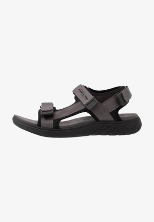 TREK - Walking sandals - dark grey/black