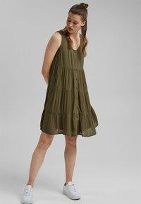edc by Esprit - Day dress - khaki green - 1