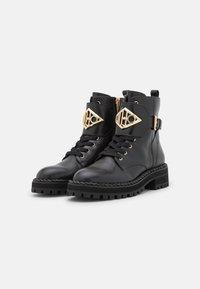 Liu Jo Jeans - BIKER - Platform ankle boots - black - 2